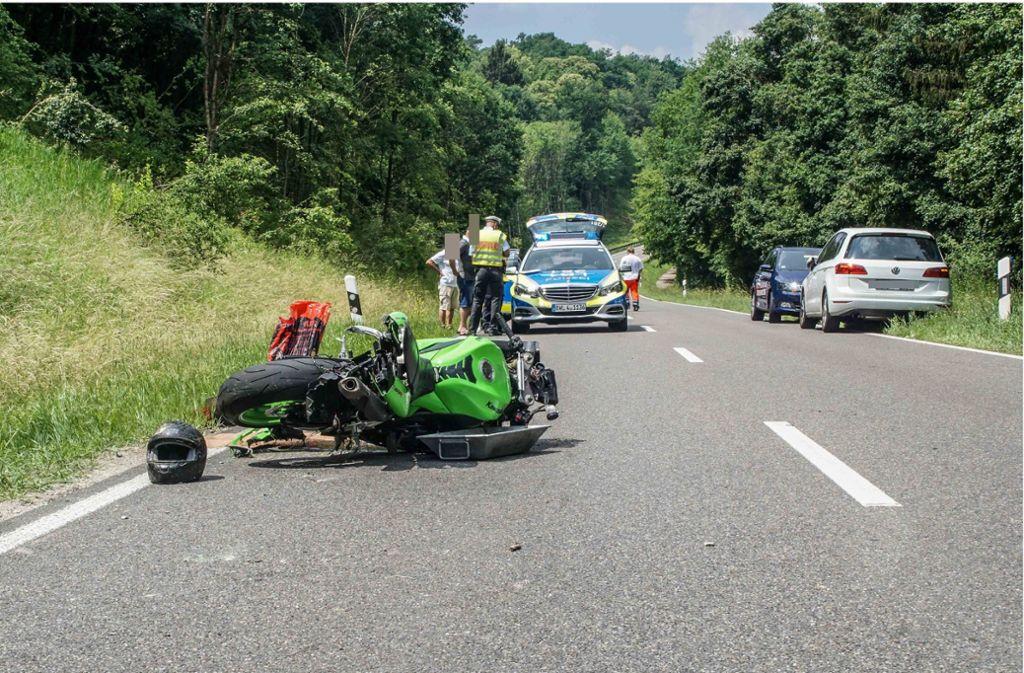Der Unfall ereignete sich am Sonntagmittag. Foto: SDMG
