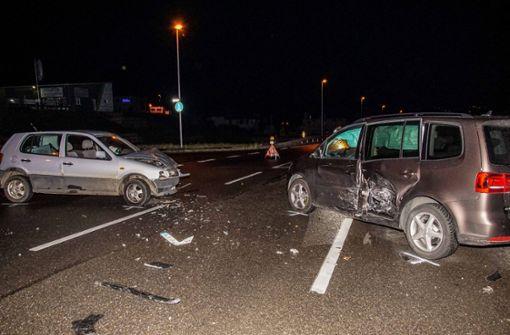 Unfall auf der Kreuzung
