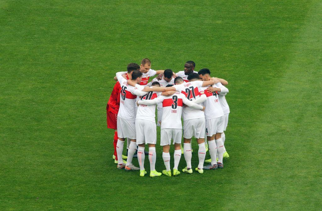 Welcher VfB-Spieler ist in welcher Statistik top? Foto: Baumann