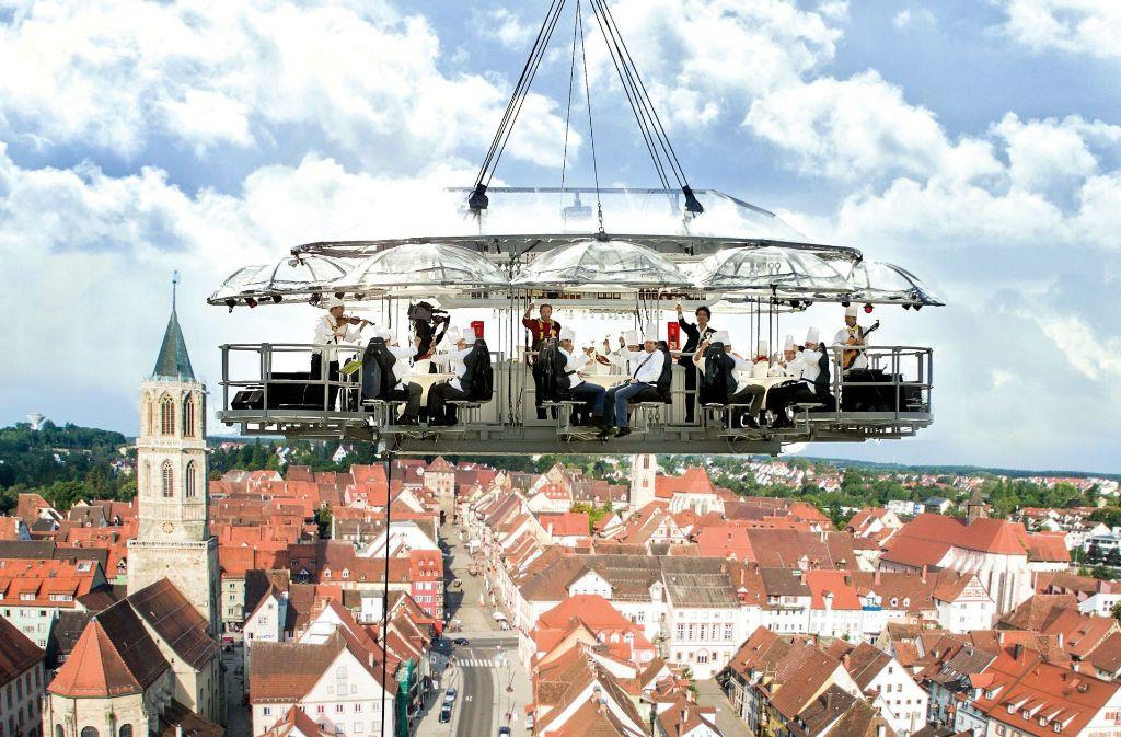 Deutschlands höchste Aussichtsplattform wird am Testturm in Rottweil eröffnet