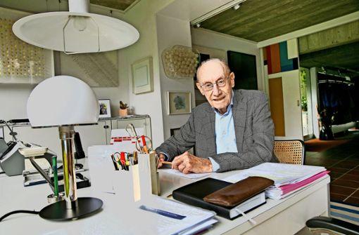 Von Visionen mag Edzard Reuter nicht lassen