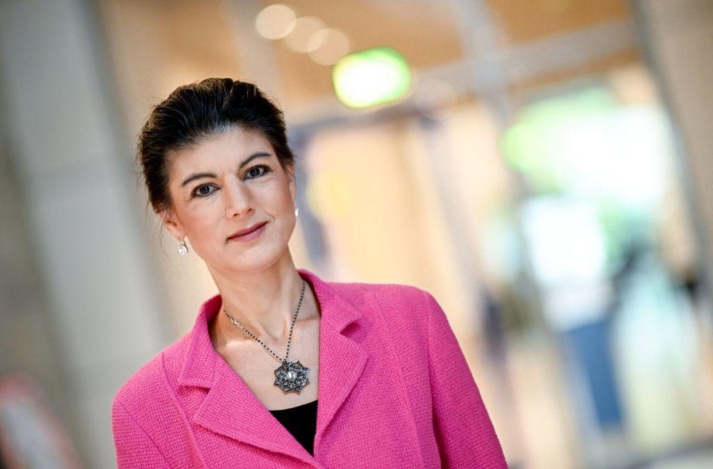 Hat genug von der Parteipolitik: Sahra Wagenknecht. Foto: dpa/Britta Pedersen
