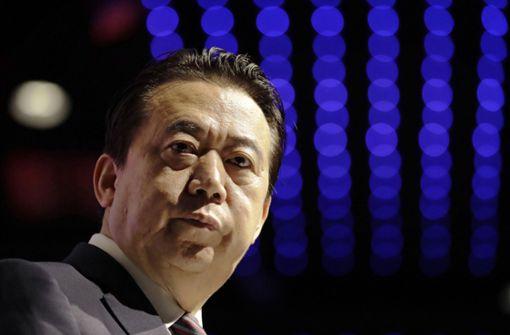 China verurteilt ehemaligen Interpol-Chef zu über  13 Jahren Haft