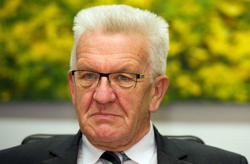 Kretschmann beruft Koalitionsausschuss ein