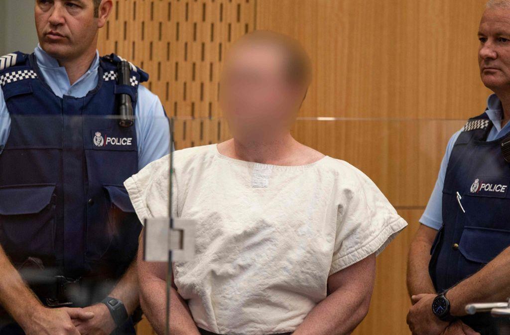 Der Angeklagte hat auf schuldig plädiert. Foto: AFP/MARK MITCHELL