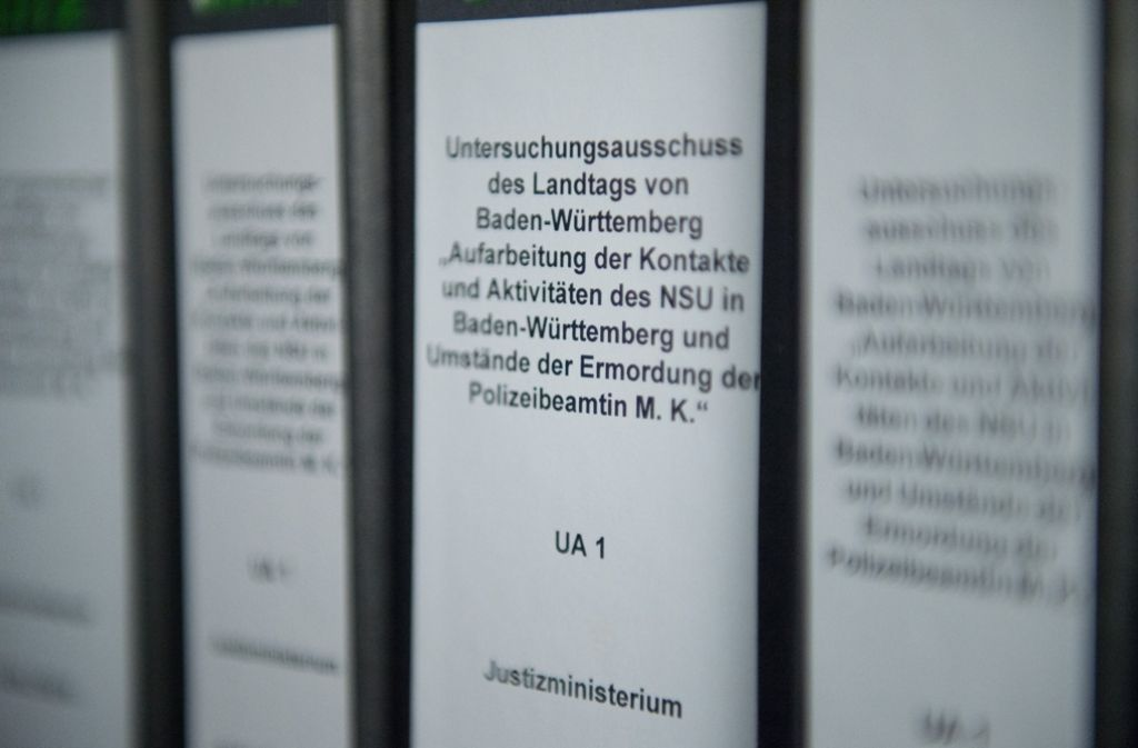 Der Landtag setzt an diesem Mittwoch einen neuen NSU-Untersuchungsausschuss ein. Foto: dpa
