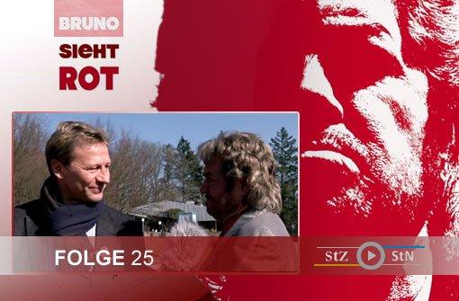 Bruno sieht rot: Das Treffen mit Weltmeister Guido Buchwald