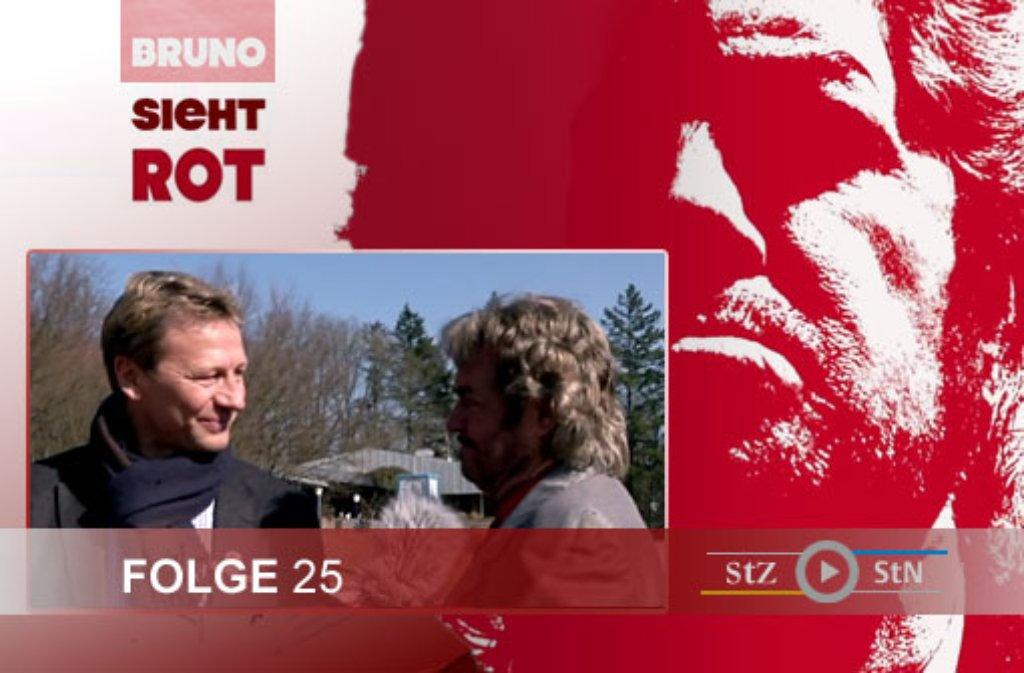 Hier ein paar Eindrücke von den Dreharbeiten zur 25. Folge von Bruno sieht rot mit Guido Buchwald im ADM-Sportpark in Stuttgart-Degerloch. Foto: SIR