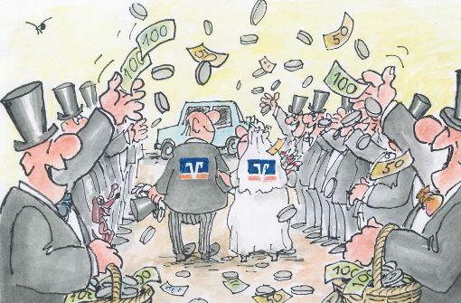Die nächste Volksbanken-Hochzeit steht an