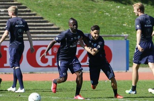 Edwini-Bonsu spielt auch um einen Vertrag