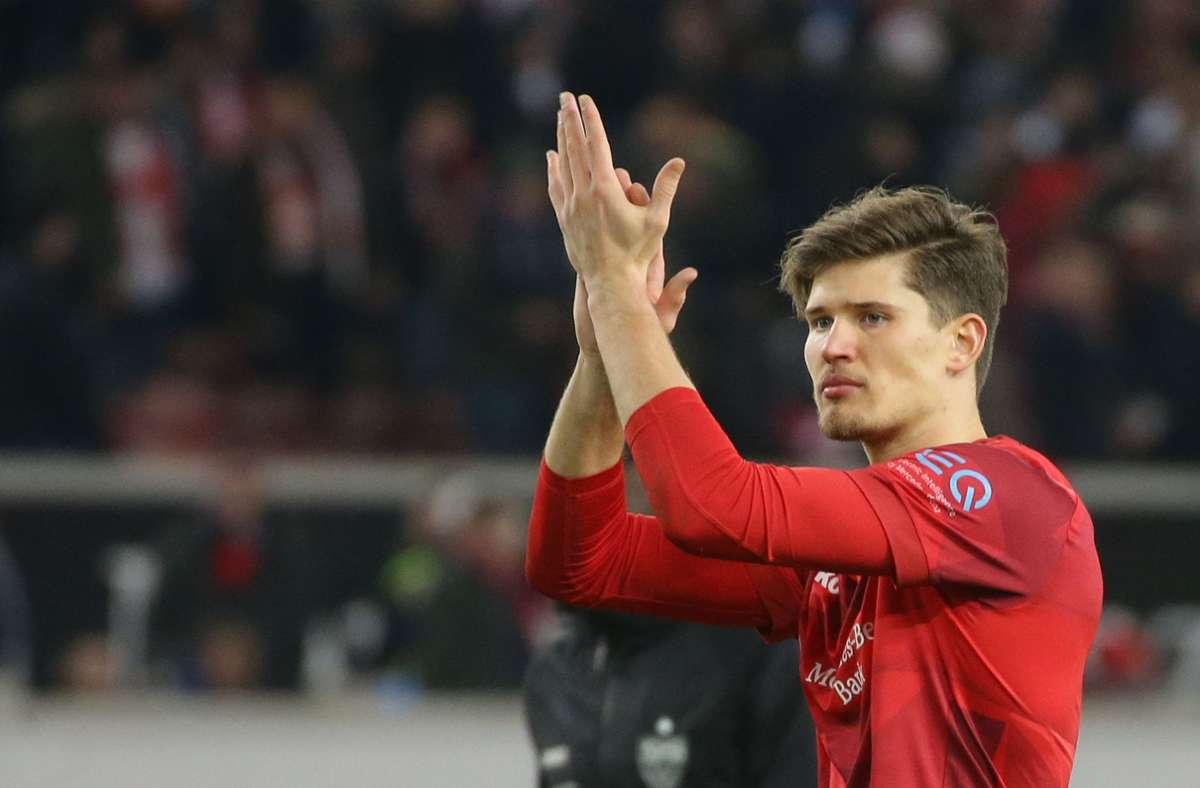 Gregor Kobel verlässt den VfB Stuttgart. Foto: Pressefoto Baumann