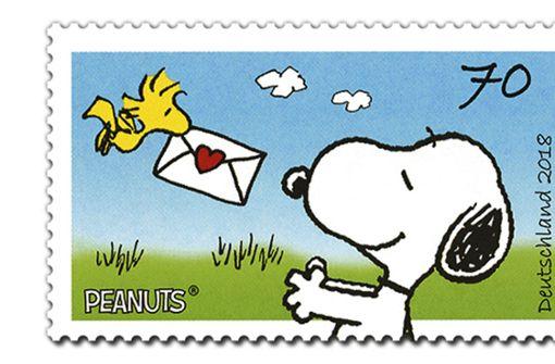 Snoopy auf den Spuren des Papstes
