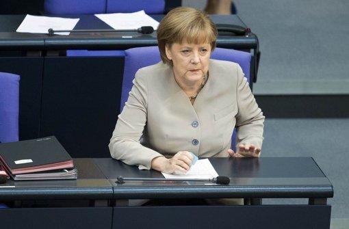 Angela Merkel durfte keine Schwäche zeigen