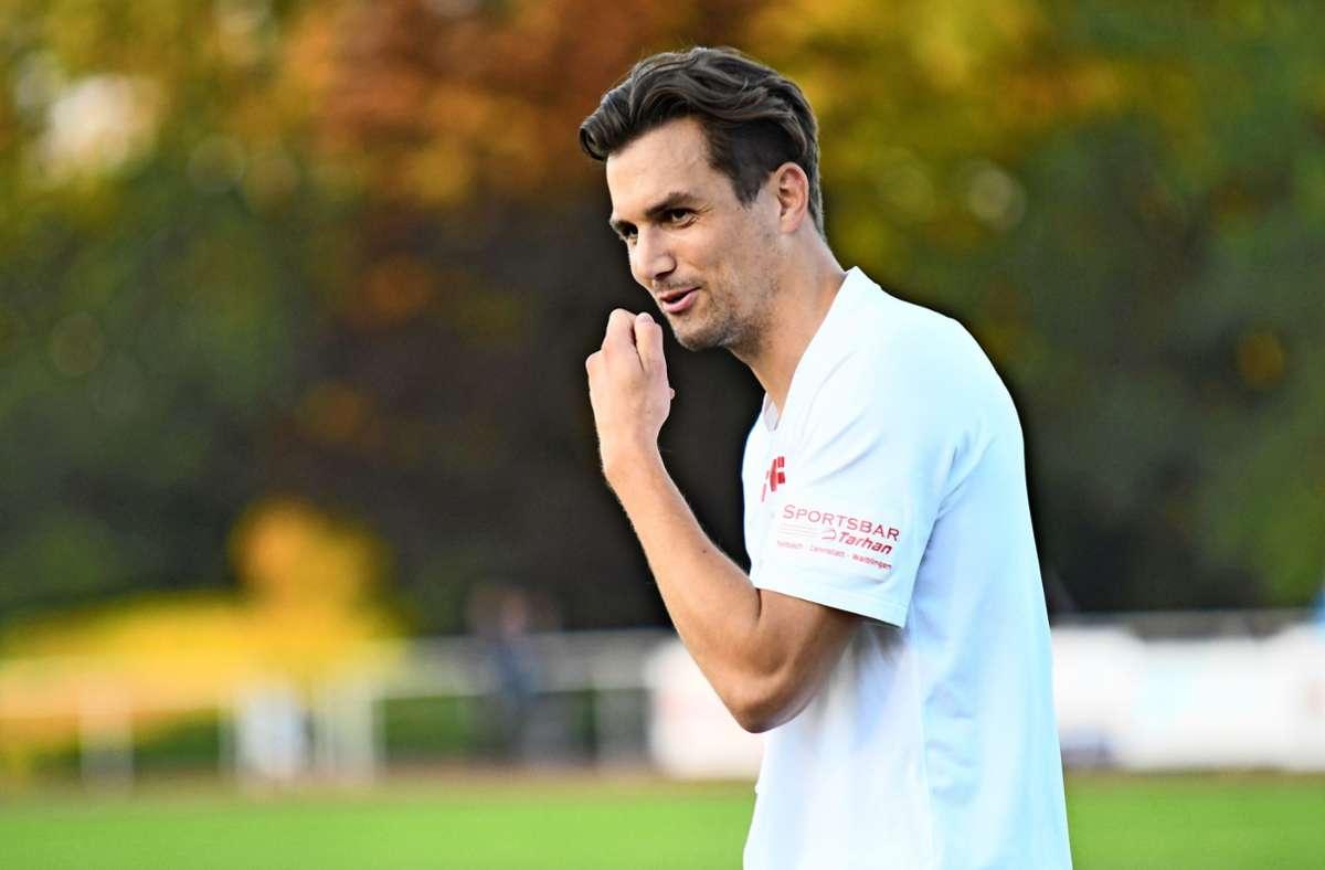 Steven  Kröner verlässt schon wieder den SV Fellbach. Foto: Maximilian Hamm