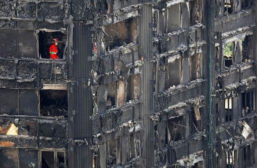 Mittlerweile vermutlich 58 Tote nach Hochhausbrand