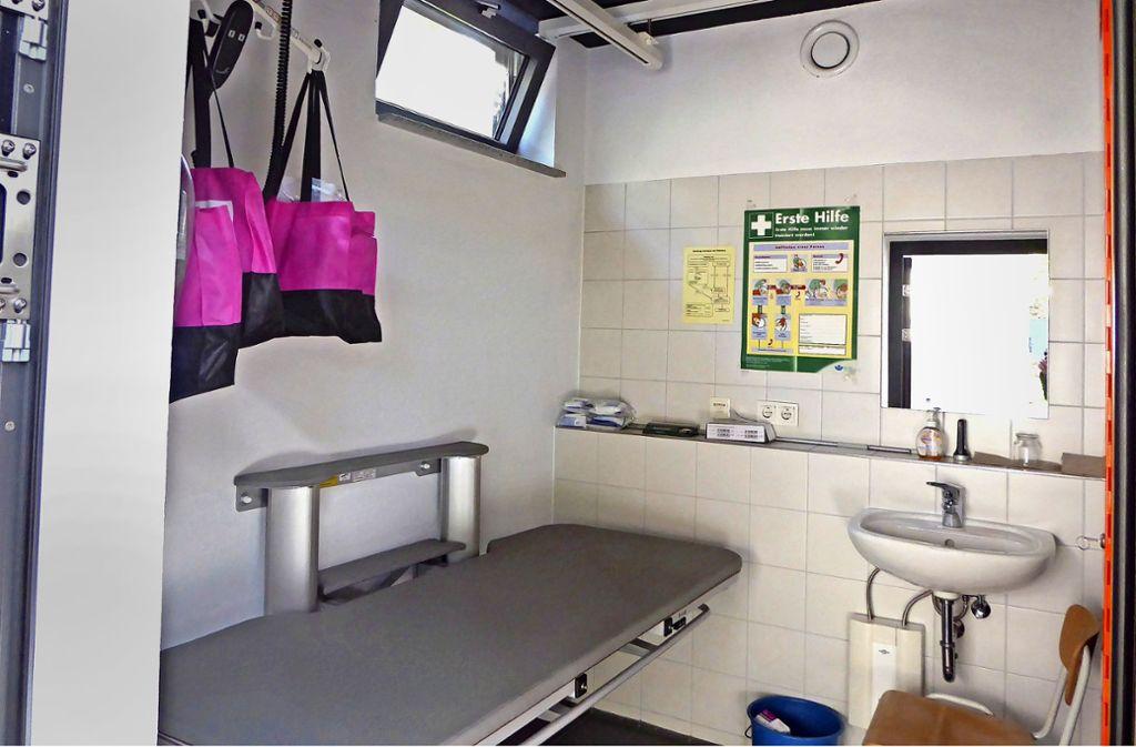 """Die """"Toilette für alle"""" der Wilhelma sei zu schmal, so der Körperbehindertenverband. Foto: LVKM Baden-Württemberg"""