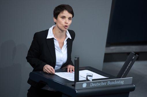 Immunität Frauke Petrys erneut aufgehoben