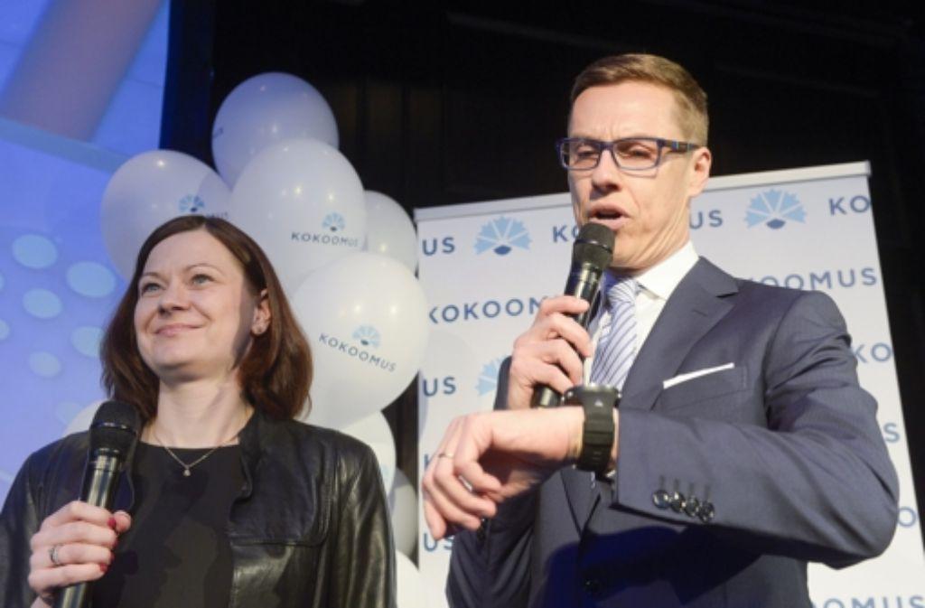Niederlage für Finnlands Premier Alexander Stubb Foto: dpa
