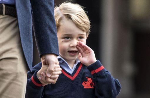Kate kann Prinz George nicht zur Schule begleiten
