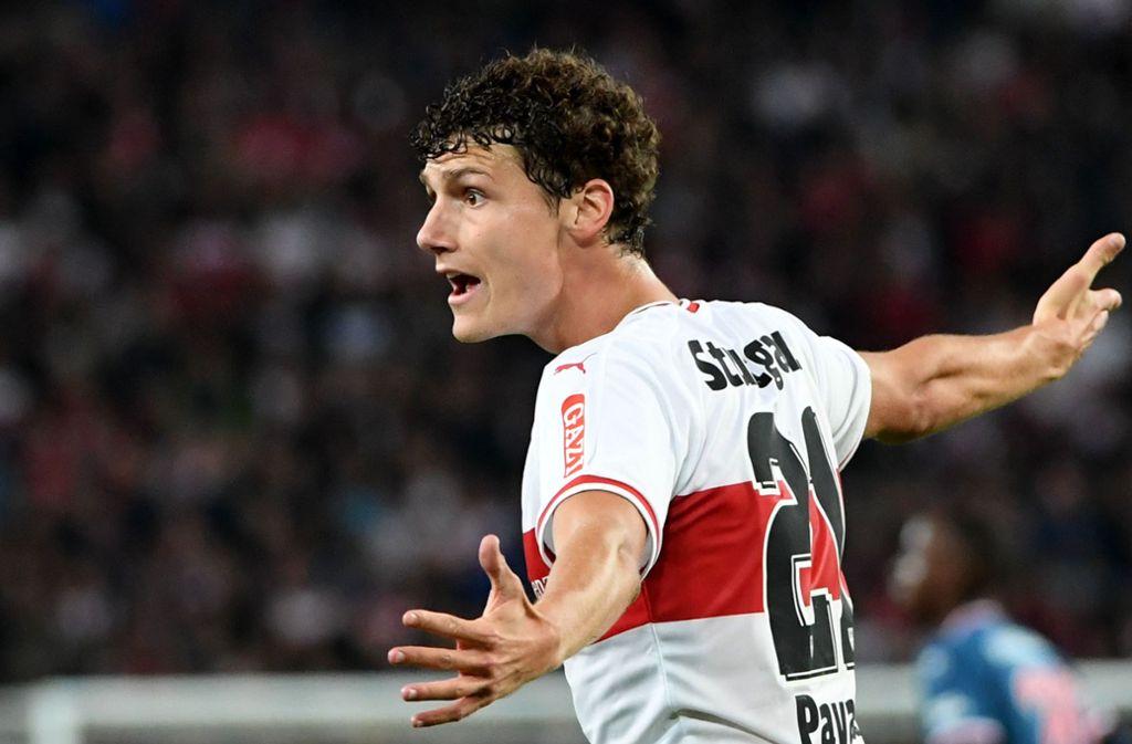 Au revoir: Benjamin Pavard wechselt vom VfB Stuttgart zum FC Bayern. Foto: