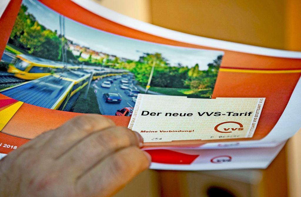 Der neue VVS-Tarif tritt am 1. April 2019 in Kraft. Bis dahin müssen noch viele Vorarbeiten erledigt werden. Foto: Lichtgut/Leif Piechowski