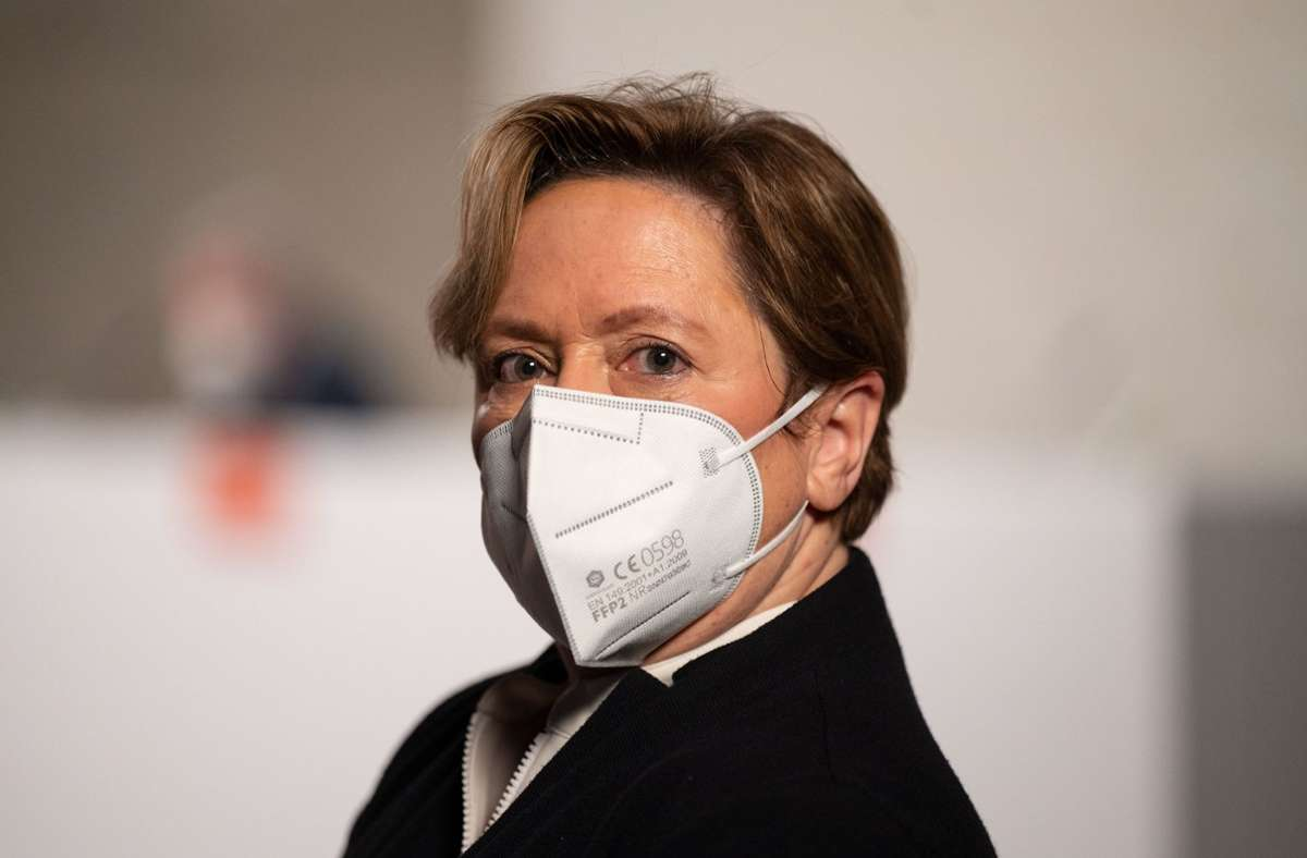 Kultusministerin und CDU-Spitzenkandidatin Susanne Eisenmann Foto: dpa/Marijan Murat