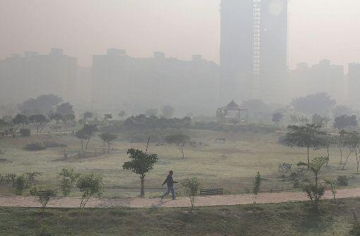 In Neu-Delhi gibt's Rekordwerte