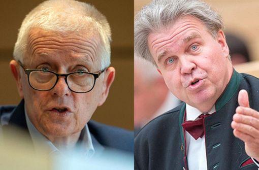 Oberbürgermeister Fritz Kuhn zeigt Heinrich Fiechtner an