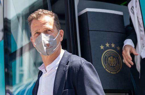 Bierhoff macht Job nicht vom Abschneiden der DFB-Elf abhängig