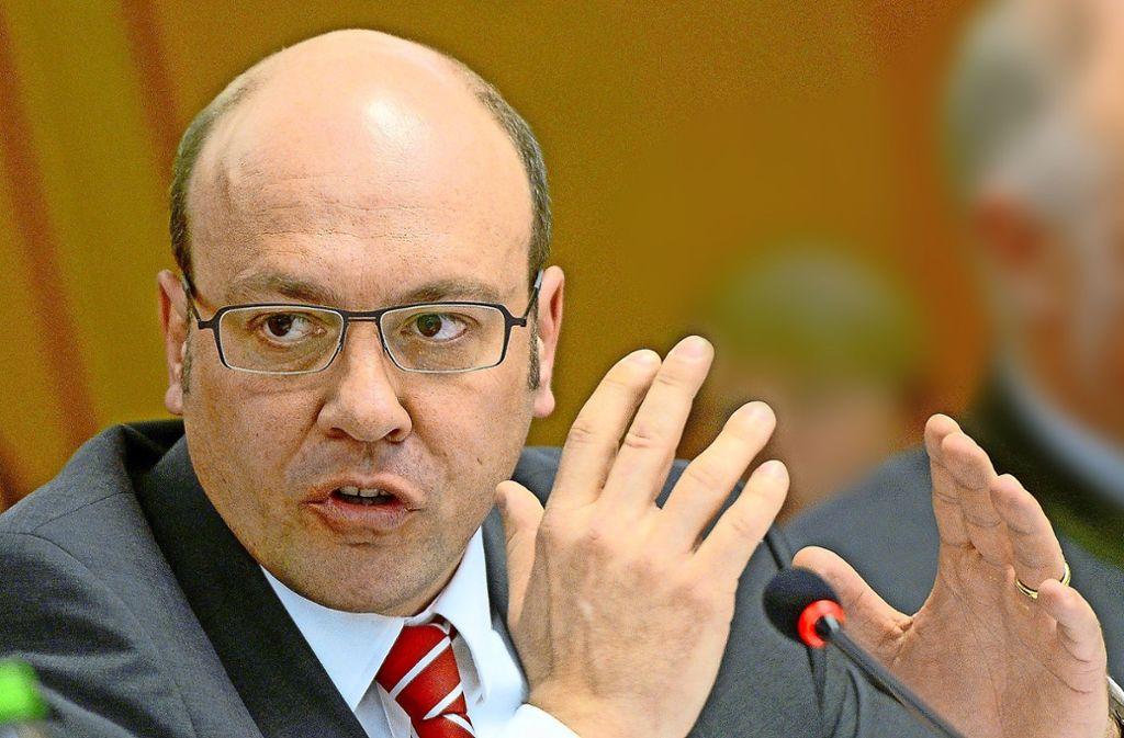 Scharfe Abgrenzung zu AfD: der Heilbronner CDU-Kreischef Alexander Throm Foto: dpa