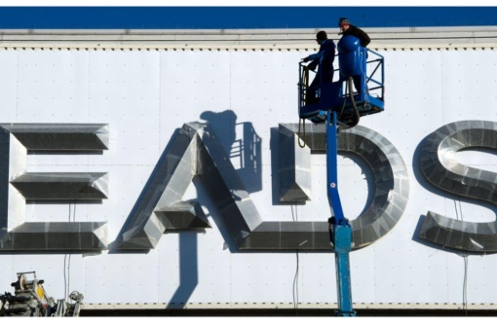EADS will mit dem Rüstungsunternehmen BAE Systems fusionieren. Foto: dpa