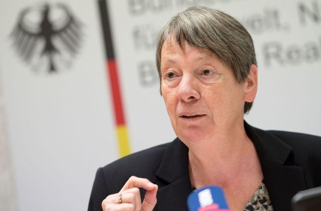 Umweltministerin Barbara Hendricks setzt auf leise Töne gepaart mit Hartnäckigkeit. Bei Alexander Dobrindt macht sie allerdings eine Ausnahme. Foto: dpa
