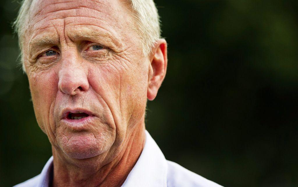 Fußball-Legende Johan Cruyff Foto: dpa