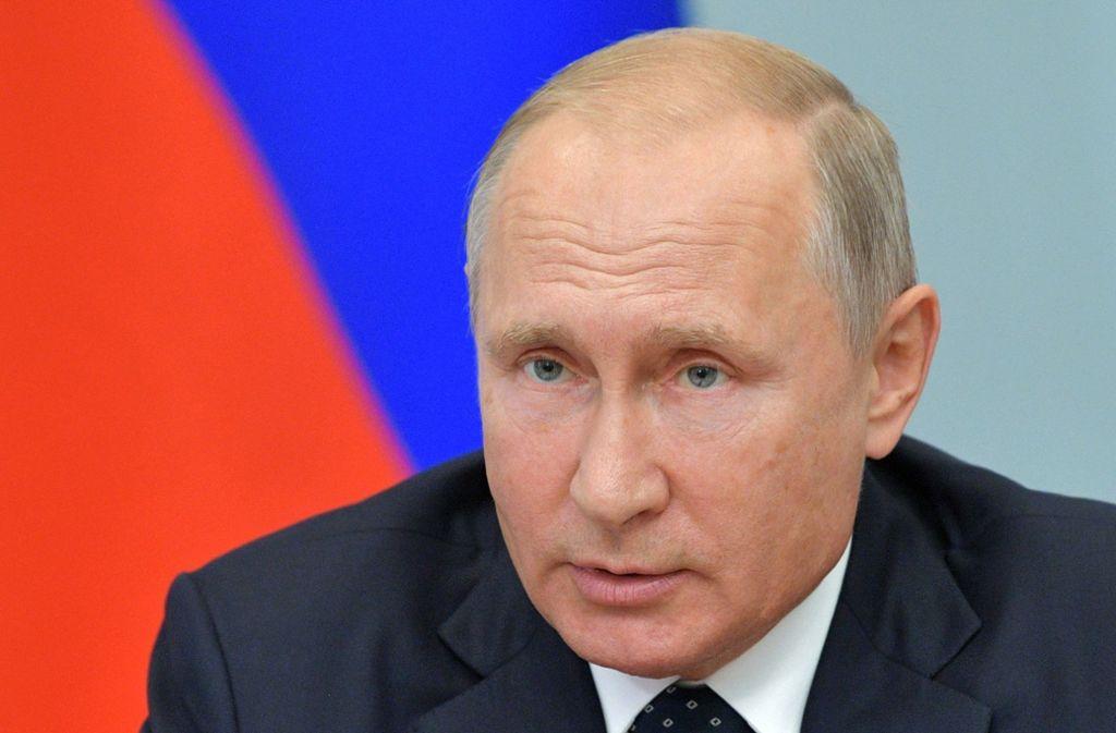 Machtpolitiker Wladimir Putin: Die Nato wertete die Ankündigungen Russlands am Dienstag als weiteren Beleg für die Aufrüstungspolitik des Landes. Foto: Pool Sputnik Kremlin