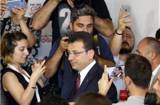 Erdrutschsieg für  Oppositionspolitiker Imamoglu