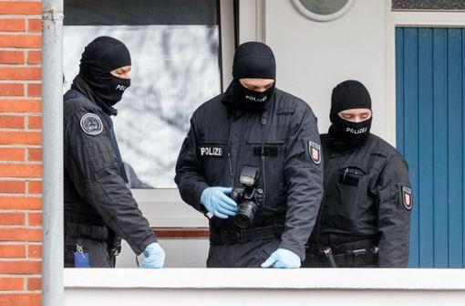 Durchsuchung bei mutmaßlichen Rechtsextremisten
