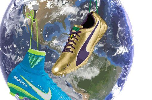 Fußball vs. Leichtathletik: Ein Planet – zwei Welten