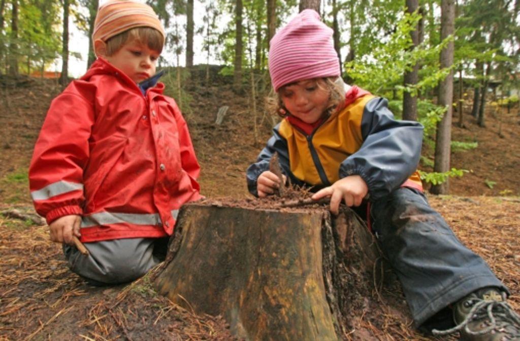Im Waldheim lernen Kinder so einiges – und erlernen eine Erkenntnis: es geht auch ohne Eltern. Foto: dpa