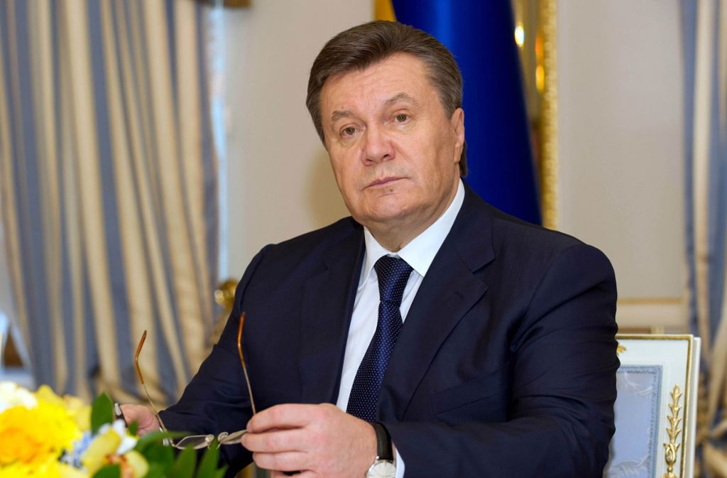 Der ehemalige ukrainische Staatspräsident Viktor Janukowitsch wurde im Februar 2014 gestürzt. Foto: dpa