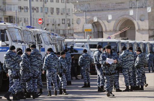 Oppositioneller Nawalny festgenommen