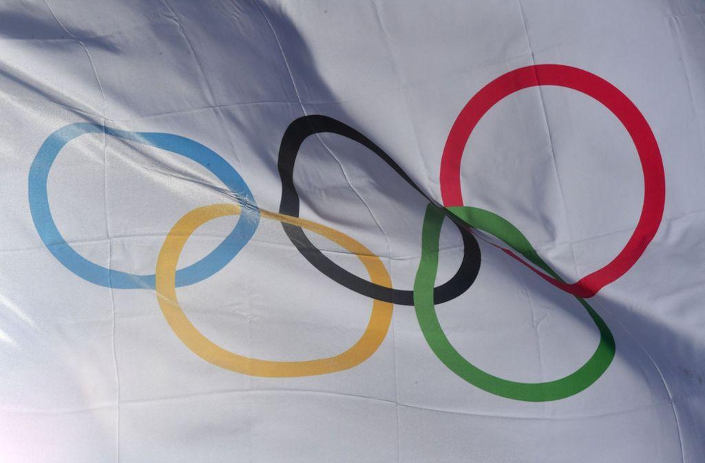 """Ein Fitnessstudio darf mit den geschützten Begriffen """"Olympia"""" und """"olympisch"""" werben. (Symbolbild) Foto: dpa"""