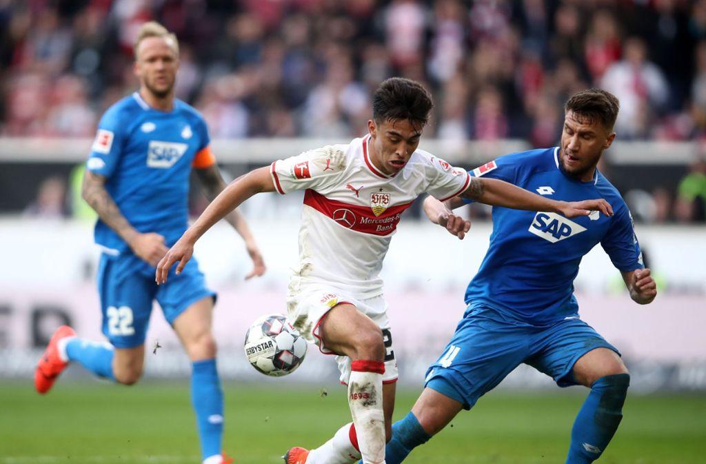 Der VfB Stuttgart hat an diesem Samstag die TSG 1899 Hoffenheim empfangen.Foto:Bongarts Foto: