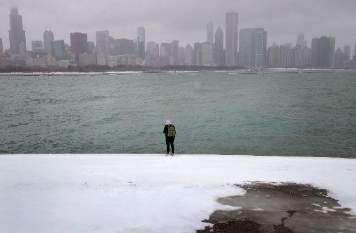 Heftiger Blizzard trifft auf die Nordostküste