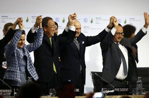 Die Welt verpflichtet sich zum Klimaschutz