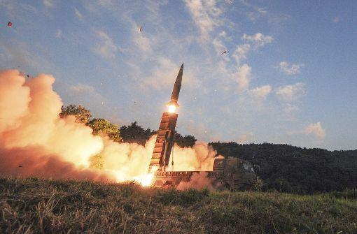 Südkorea startet eigene Raketen