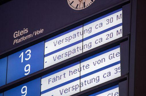 Jeder vierte Fernzug hat Verspätung