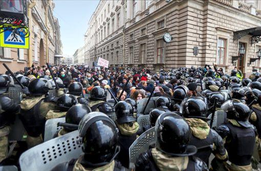 Protest in der Provinz: Risiko für Putin?