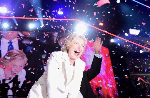Clinton präsentiert sich als Kämpferin