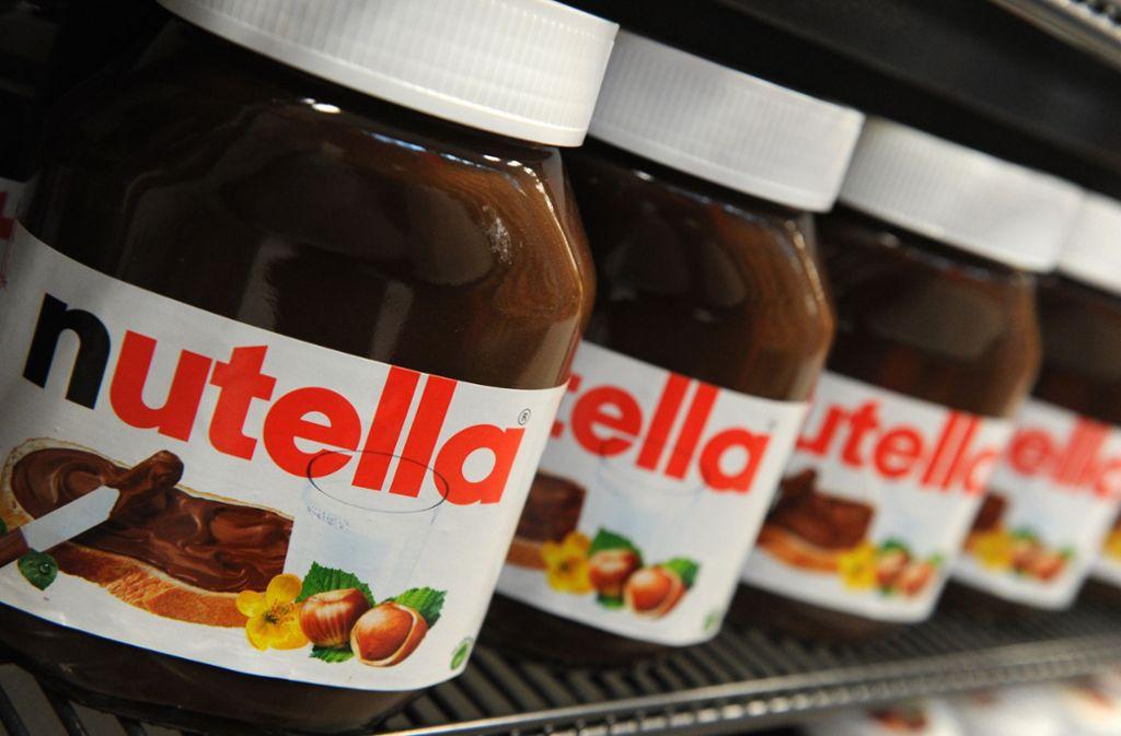 Gibt es bald kein Nutella mehr in den Regalen? Foto: dpa