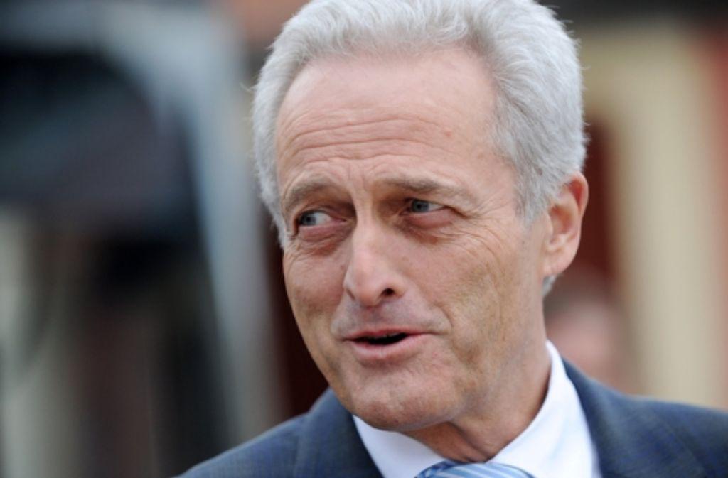 Bundesverkehrsminister Peter Ramsauer Foto: dpa